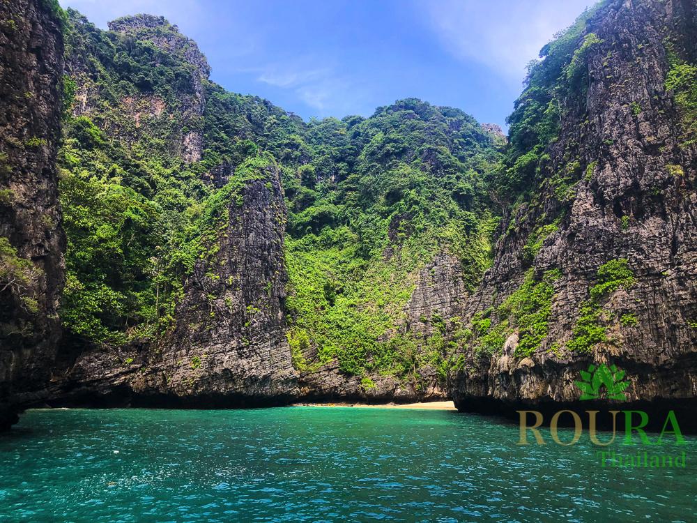 ピピ島ロングテールボート Wang Cave
