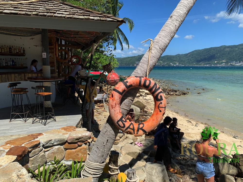 プーケットのビーチで象と遊ぶ!ラッキービーチの2020年最新版  受付の場所2