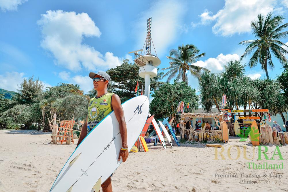 サーフィンスクールの場所
